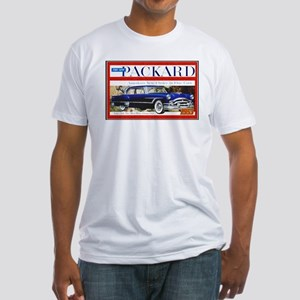"""1953 Packard Ad"" Fitted T-Shirt"