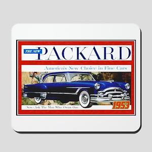 """1953 Packard Ad"" Mousepad"