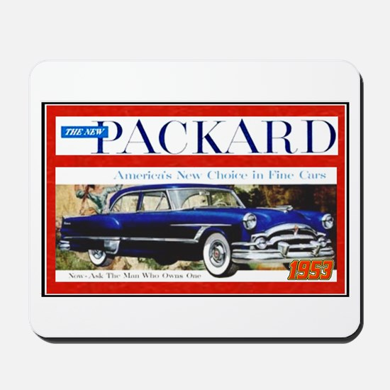 """1953 Packard Ad"" Mousepad"