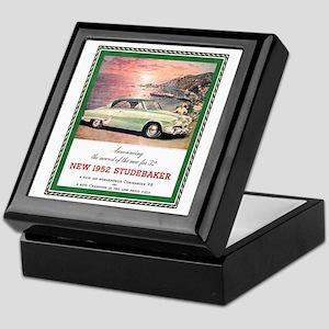 """""""1952 Studebaker Ad"""" Keepsake Box"""