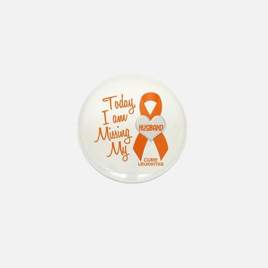 Missing My Husband 1 LEUKEMIA Mini Button