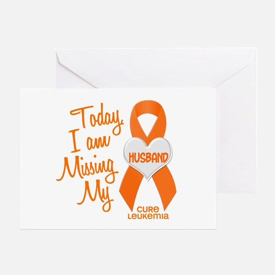 Missing My Husband 1 LEUKEMIA Greeting Card