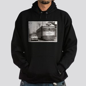 """Share the Road"" Hoodie (dark)"