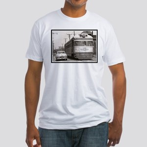 """""""Share the Road"""" Fitted T-Shirt"""