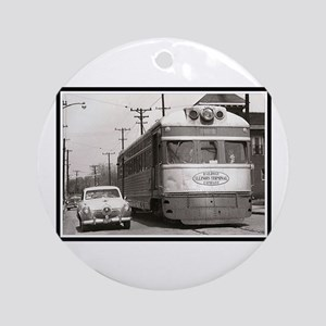 """Share the Road"" Ornament (Round)"