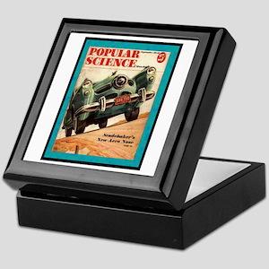 """1950 Studebaker Test"" Keepsake Box"