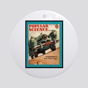 """1950 Studebaker Test"" Ornament (Round)"