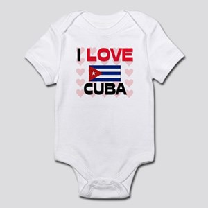 I Love Cuba Infant Bodysuit