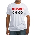 KOWH Omaha 1958 - Fitted T-Shirt