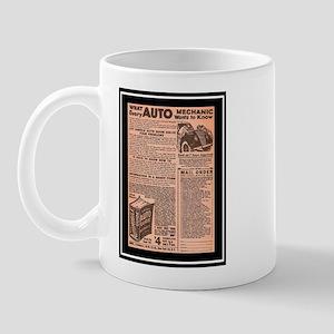 """""""Auto Guide-Circa 1960"""" Mug"""