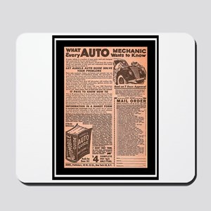 """Auto Guide-Circa 1960"" Mousepad"