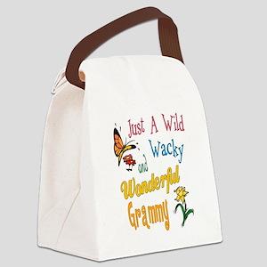 Wonderful Grammy Canvas Lunch Bag