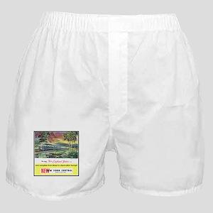 """1949 New England States Ad"" Boxer Shorts"
