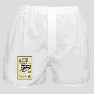 """""""1949 NAPA Ad"""" Boxer Shorts"""