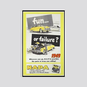 """1949 NAPA Ad"" Rectangle Magnet"