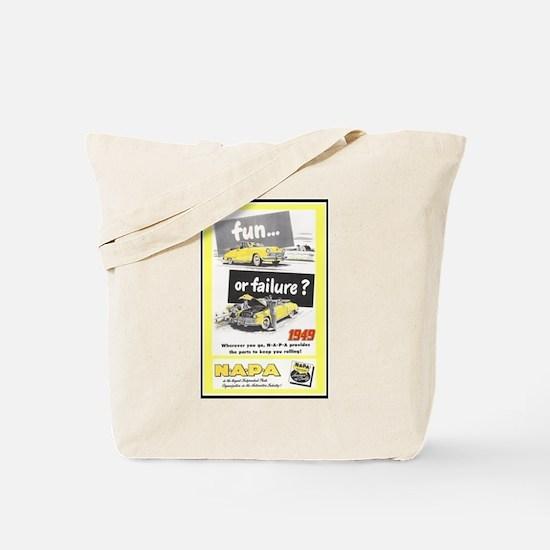 """""""1949 NAPA Ad"""" Tote Bag"""
