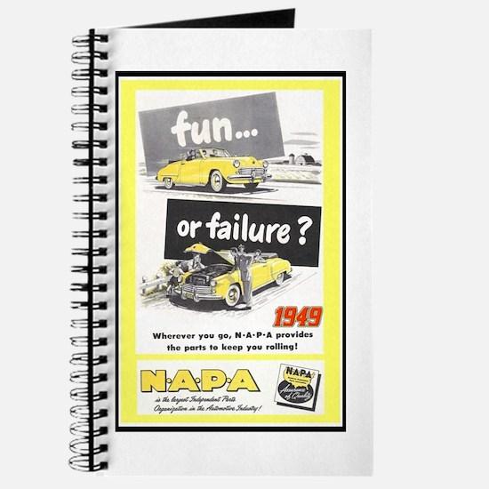 """1949 NAPA Ad"" Journal"
