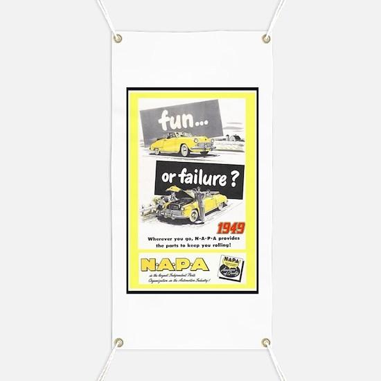 """1949 NAPA Ad"" Banner"