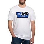 XEAK Tijuana (1950s) - Fitted T-Shirt