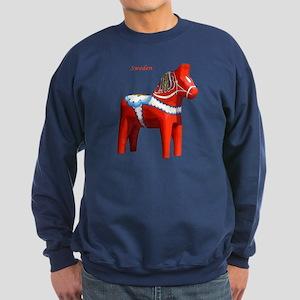 Dala Horse Sweatshirt (dark)