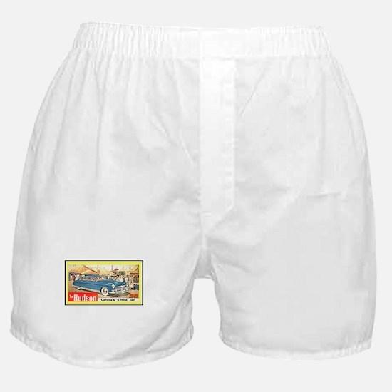 """1949 Hudson Ad"" Boxer Shorts"