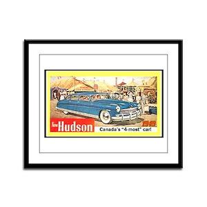 """""""1949 Hudson Ad"""" Framed Panel Print"""