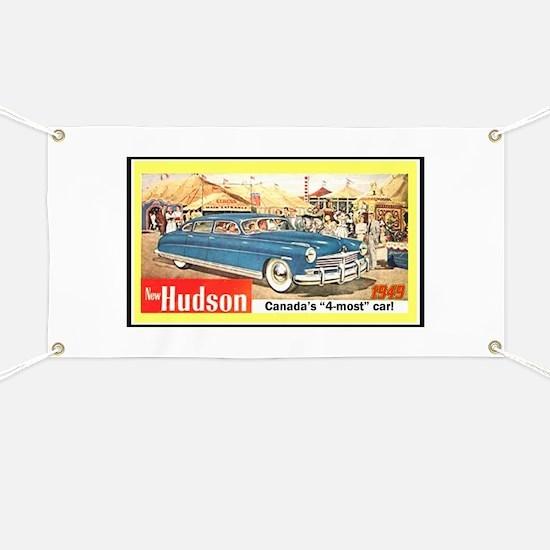 """1949 Hudson Ad"" Banner"