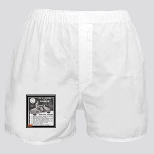 """""""Salsbury Scooter Ad"""" Boxer Shorts"""