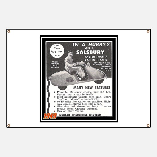 """""""Salsbury Scooter Ad"""" Banner"""