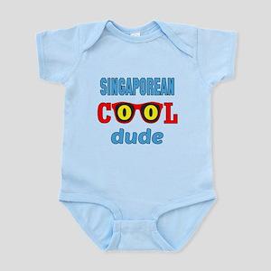 Solomon Islander Cool Dude Infant Bodysuit