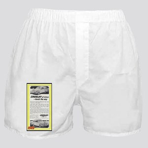 """1948 Crosley Ad"" Boxer Shorts"
