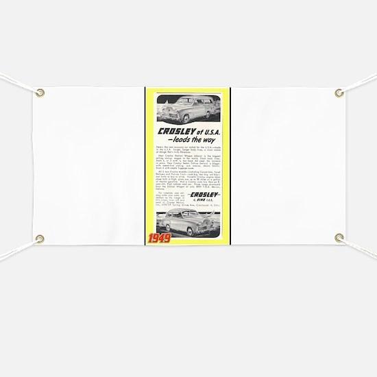 """1948 Crosley Ad"" Banner"