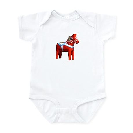 Dala Horse Infant Bodysuit