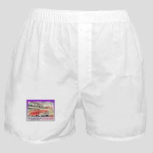"""1949 Packard Ad"" Boxer Shorts"