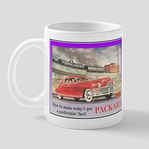 """""""1949 Packard Ad"""" Mug"""