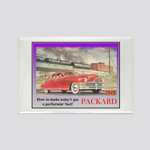"""1949 Packard Ad"" Rectangle Magnet"