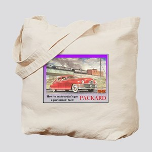 """1949 Packard Ad"" Tote Bag"