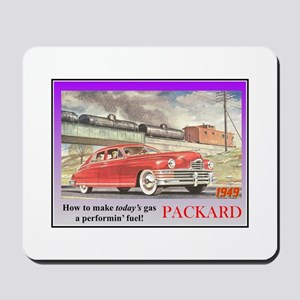 """1949 Packard Ad"" Mousepad"