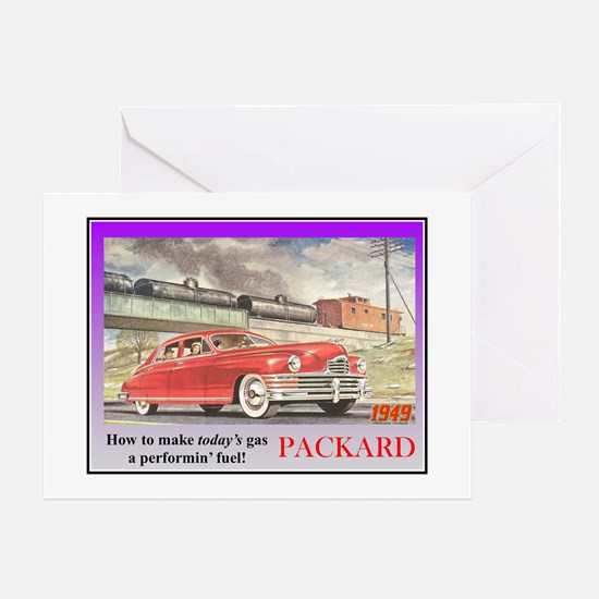 """1949 Packard Ad"" Greeting Card"
