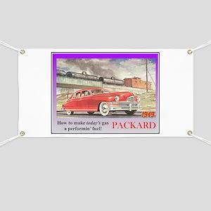 """""""1949 Packard Ad"""" Banner"""