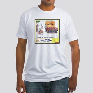 """1949 Dodge Trucks"" Fitted T-Shirt"