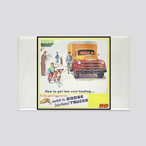 """1949 Dodge Trucks"" Rectangle Magnet"