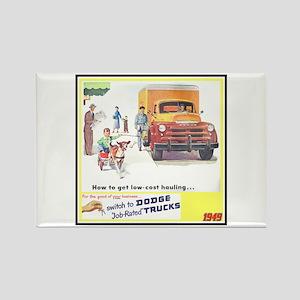 """""""1949 Dodge Trucks"""" Rectangle Magnet"""
