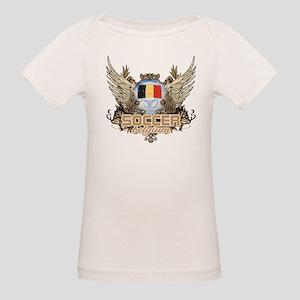 Soccer Belgium Organic Baby T-Shirt