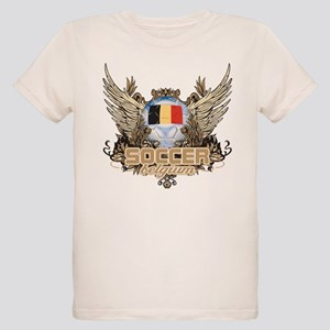 Soccer Belgium Organic Kids T-Shirt