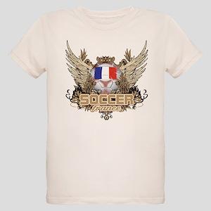 Soccer France Organic Kids T-Shirt