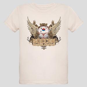 Soccer South Korea Organic Kids T-Shirt