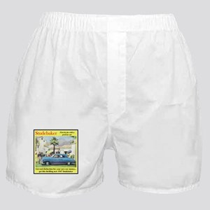 """1947 Studebaker Ad"" Boxer Shorts"