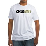 CKLG Vancouver 1977 - Fitted T-Shirt