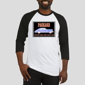 """Packard Slogan"" Baseball Jersey"